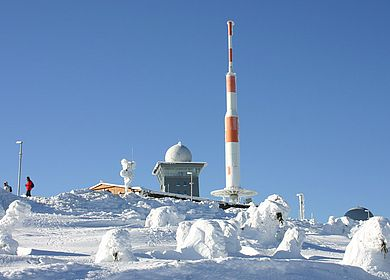 Der Brocken im Winter