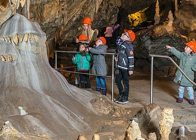 Führung durch die Hermannshöhle
