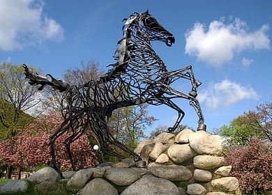 Sleipnir - achtbeiniges Pferd