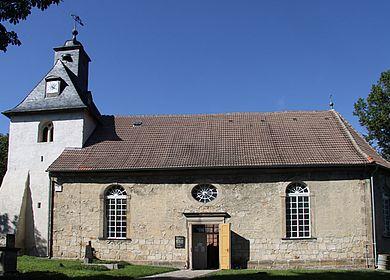 Die Wedderslebener Kirche
